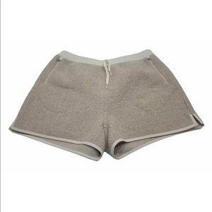 Outdoor Voices Mega Fleece Shorts Oatmeal Womens Size XL